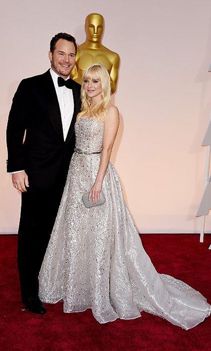 Chris Pratt and Anna Faris.