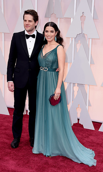 Ryan Piers Williams and America Ferrera.
