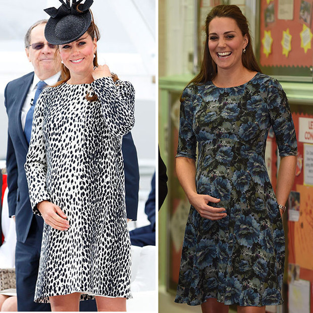 The Duchess of Cambridge's pregnancy style by trimester ...