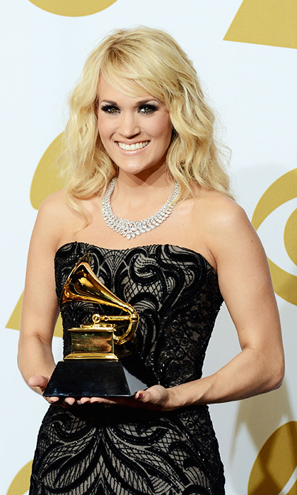 "The ""Little Toy Guns"" singer has <strong>SEVEN GRAMMY TROPHIES</strong> to her name. 