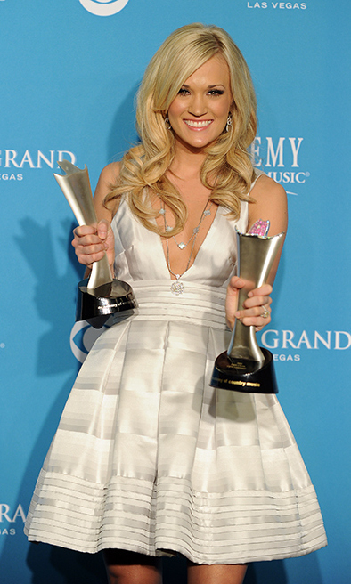 Her name has been called <strong>11 TIMES</strong> at the Academy of Country Music Awards and, in 2010, she was named Entertainer of the Year for the second time - the first female artist to do so. 