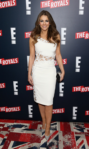 Elizabeth Hurley plays Queen Helena