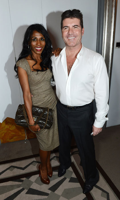 Sinitta and Simon Cowell previously dated in the 80s and the pair have remained firm friends ever since.