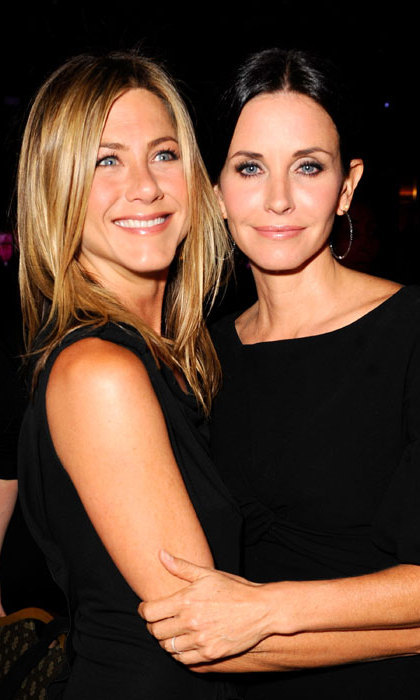 Jennifer Aniston was delighted to take on the special role by Friends co-star and real-life best friend Courteney Cox when her daughter Coco was born.