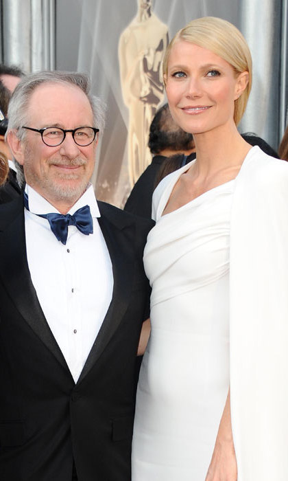 Steven Spielberg was a close family friend of Gwyneth Paltrow's parents actress Blythe Danner and the late director Bruce Paltrow.