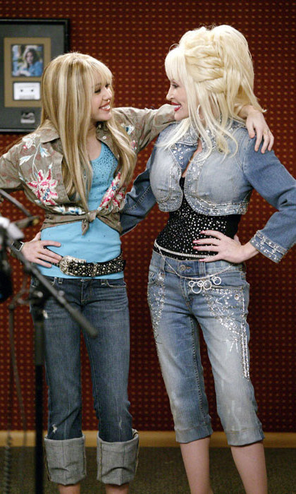 Dolly Parton has supported her 'smart' and 'talented' goddaughter Miley Cyrus since her career began - appearing on her hit show Hannah Montana and dueting with her on stage.