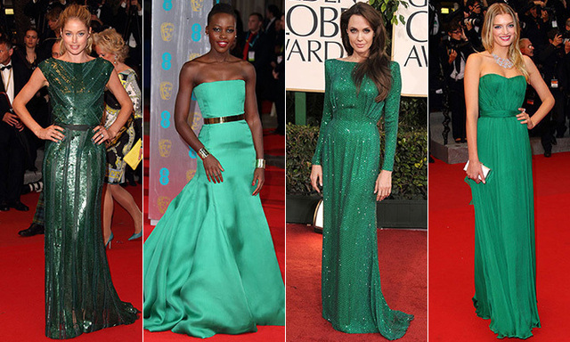 St. Patrick's Day: The 10 most gorgeous green dresses on the red carpet