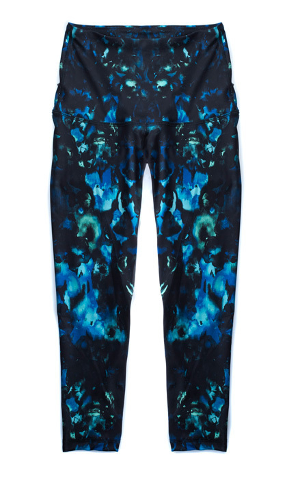 Comfy pants take you from spa treatments straight to yoga class.