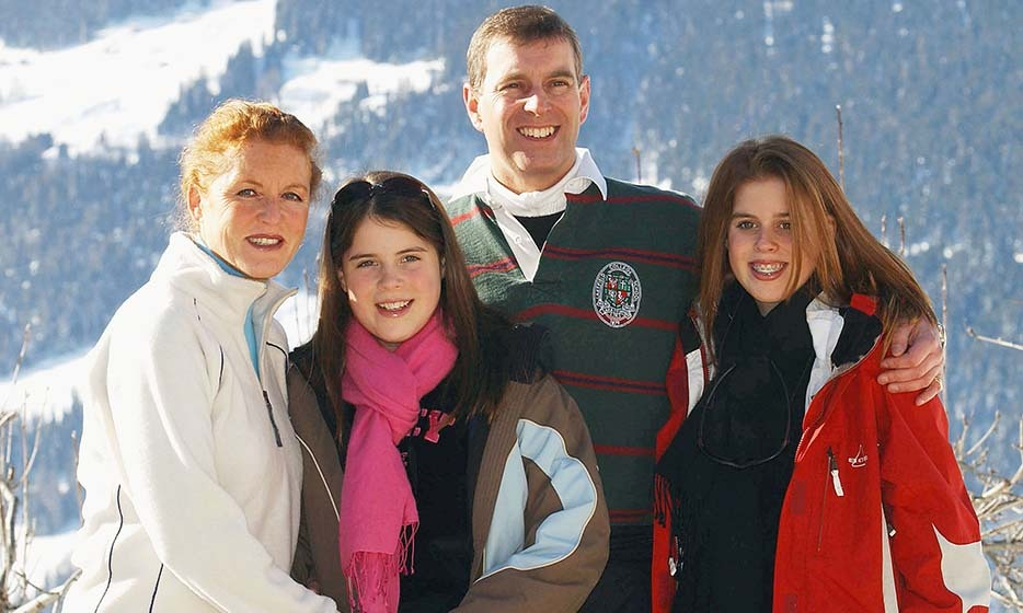 As teenagers, the York sisters returned to Switzerland on holiday with their parents in 2003. 