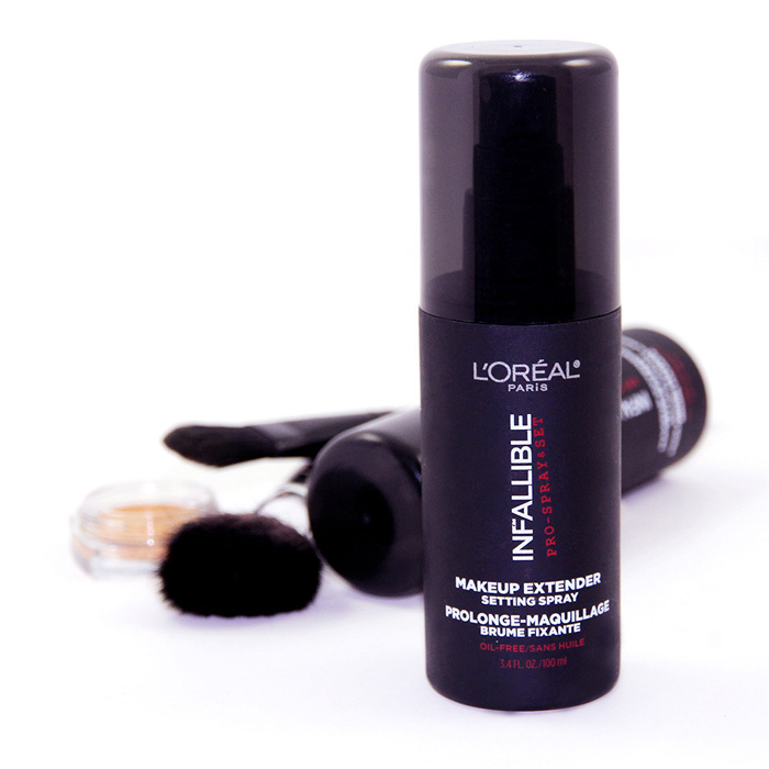 L'Oréal Paris Pro-Spray & Set Makeup Extender by Infallible, $16, drugstores and mass-market retailers,