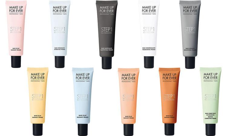 Make Up For Ever Step 1 Skin Equalizer Radiant Primer and Skin Equalizer Hydrating Base, each $43, makeupforever.ca