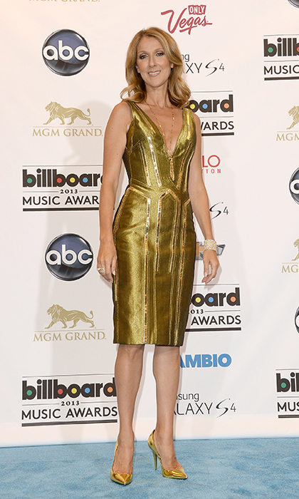 She wowed in a gold dress at the 2013 Billboard music awards. (Photo: © Getty)