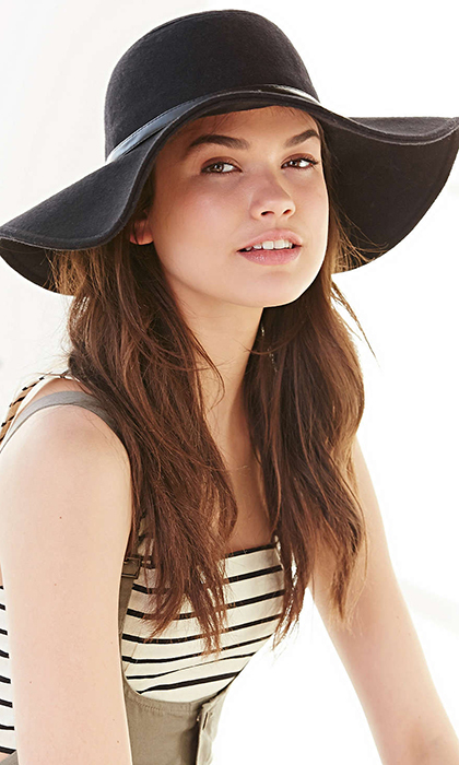 Urban Outfitters, Staring at Stars Lola Felt Floppy Hat, $49, urbanoutfitters.com