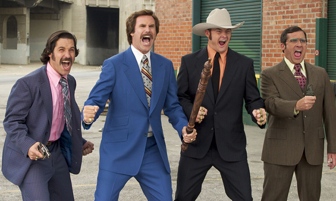 ANSWER: Anchorman: The Legend of Ron Burgundy (2004)