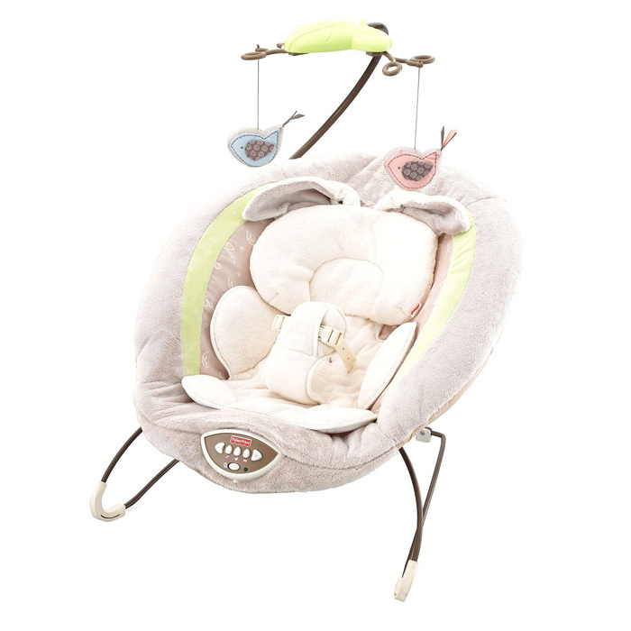 WITH EIGHT SONGS AND CALMING VIBRATIONS, THIS COZY CHAIR IS THE ULTIMATE ROCKER