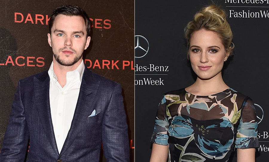 Nicholas hoult dating dianna agron