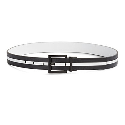 Calvin Klein Reversible Embossed Leather Belt, $50.00, thebay.com