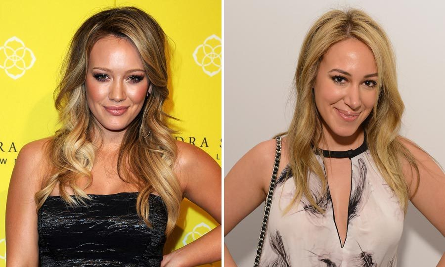 In 2006 sisters Hilary and Haylie Duff starred together in the film Material Girls. 