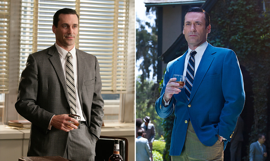 Jon Hamm (Don Draper):
