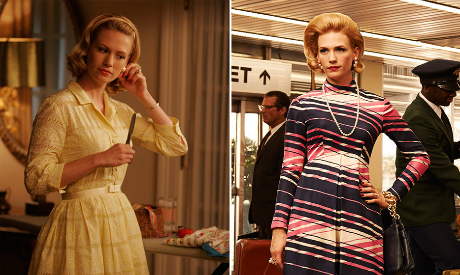 January Jones (Betty Draper/Betty Francis):