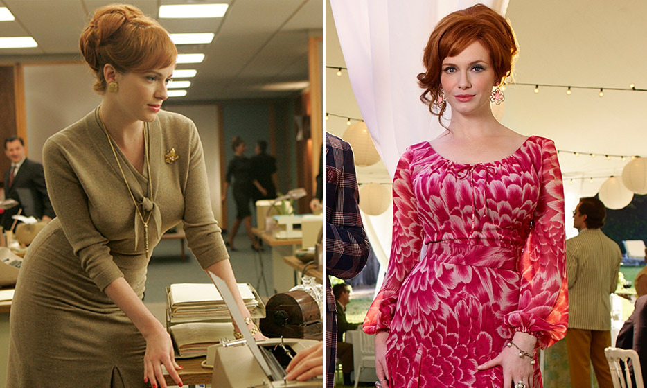 Christina Hendricks (Joan Harris/Joan Holloway):