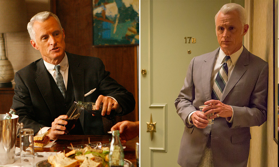 John Slattery (Roger Sterling):