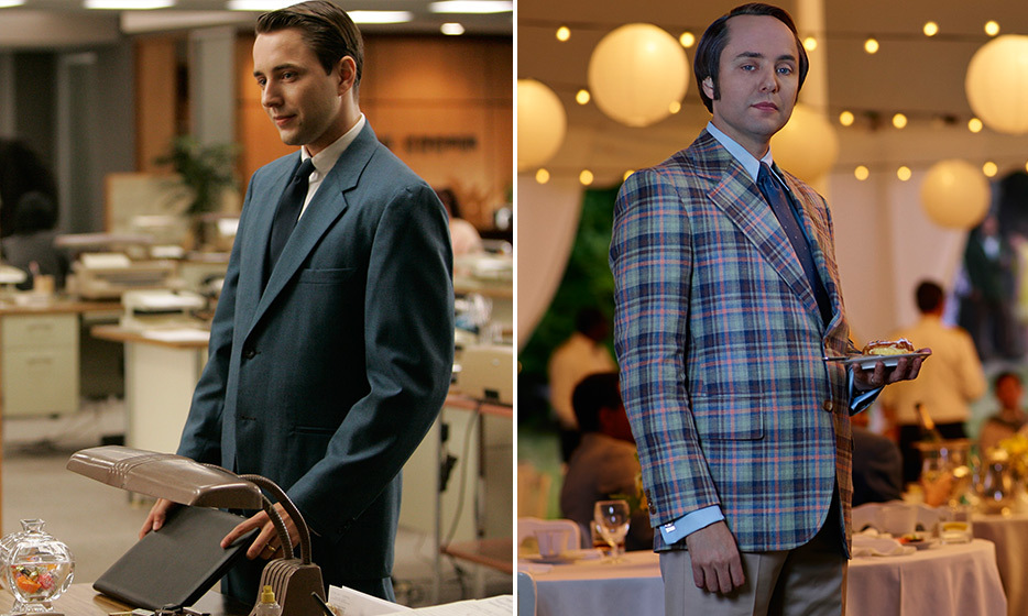 Vincent Karheiser (Pete Campbell):