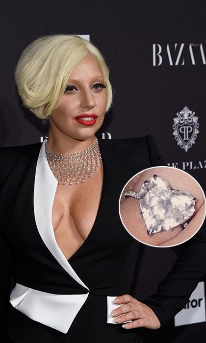 "Lady Gaga had one of the sweetest proposals, quite literally. The Just Dance singer, who is engaged to Taylor Kinney, was at first presented with a joke ""candy"" ring made of sweets on Valentine's Day.