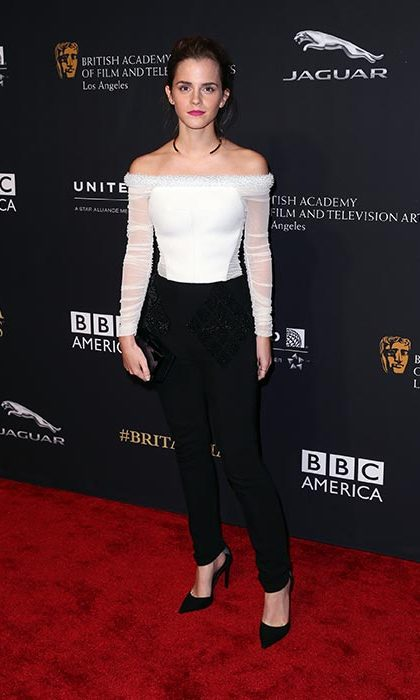 The epitome of casual chic at the BAFTAs. 