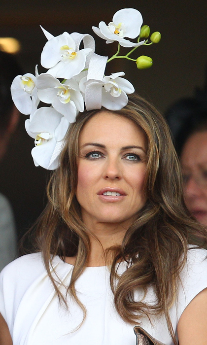 Elizabeth Hurley came into bloom at the Flemington Racecourse in Melbourne  in 2011 thanks to Philip s 8d85a68089b