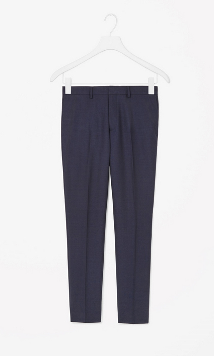 Men's Tailored Wool Trousers, $125 (USD)