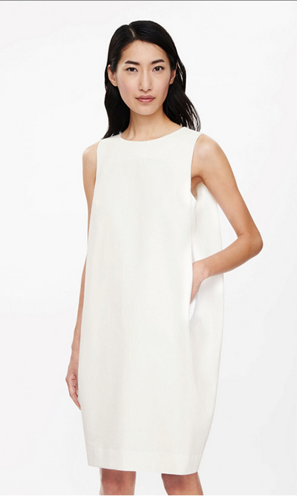Dress with Draped Sides, $115 (USD)