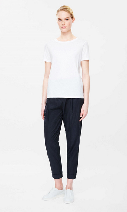 Relaxed Pleated Trousers, $115 (USD)