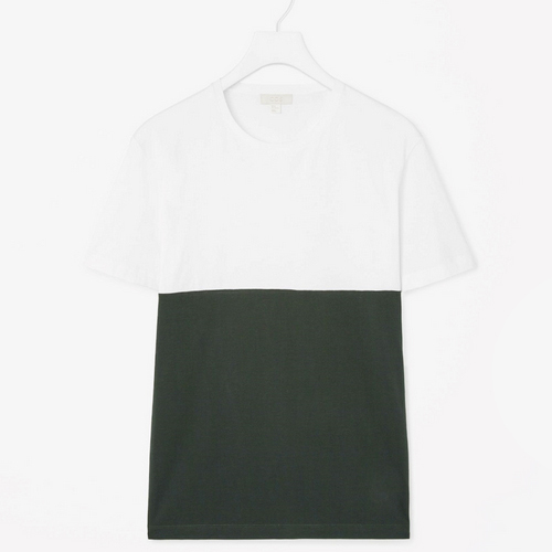 Contrast Panel T-Shirt, $25 (USD)
