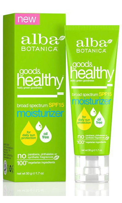 This company's beauty products are packed with powerful antioxidants thanks to the veggies they're made from (kale, spinach and swiss chard!). Alba Botanica Good & Healthy Facial Moisturizer, albabotanica.com, $10