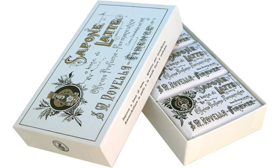 Zosia Mamet routinely uses this line, which she discovered via her makeup artist. The soaps are made from all-natural milk. Santa Maria Novella's Verbena Milk Soap, santamarianovellausa.com, $54