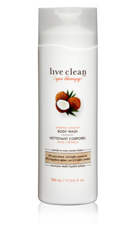 Transport yourself to Hawaii each morning by reaching for this body wash in the shower. It's made with certified organic botanicals and smells like fresh coconut. Live Clean Spa Therapy Creamy Coconut Body Wash, Shopper's Drug Mart and liveclean.com, $10