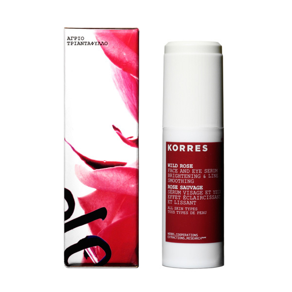 Made in Greece, Korres's products are free of parabens, sulfates and phthalates. Korres Wild Rose Face and Eye Serum, Sephora, $49