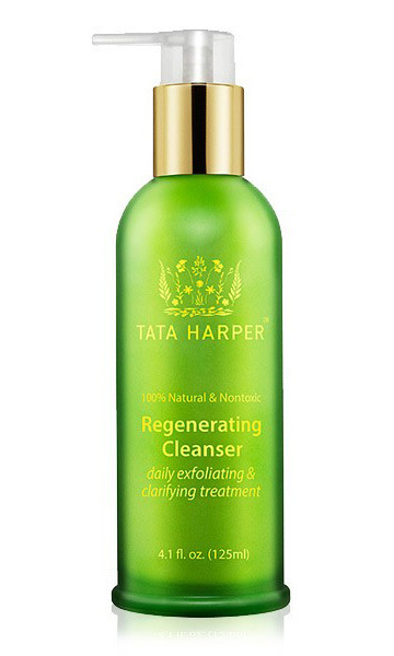 "Michelle Monaghan is a massive fan of this cleanser because ""it's natural and gives you this really beautiful glow."" Tata Harper's Regenerating Cleanser, tataharperskincare.com, $75"