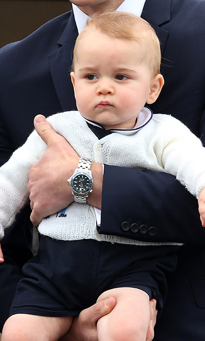 Next, he may be a bit wary – who is this new baby getting all the attention?