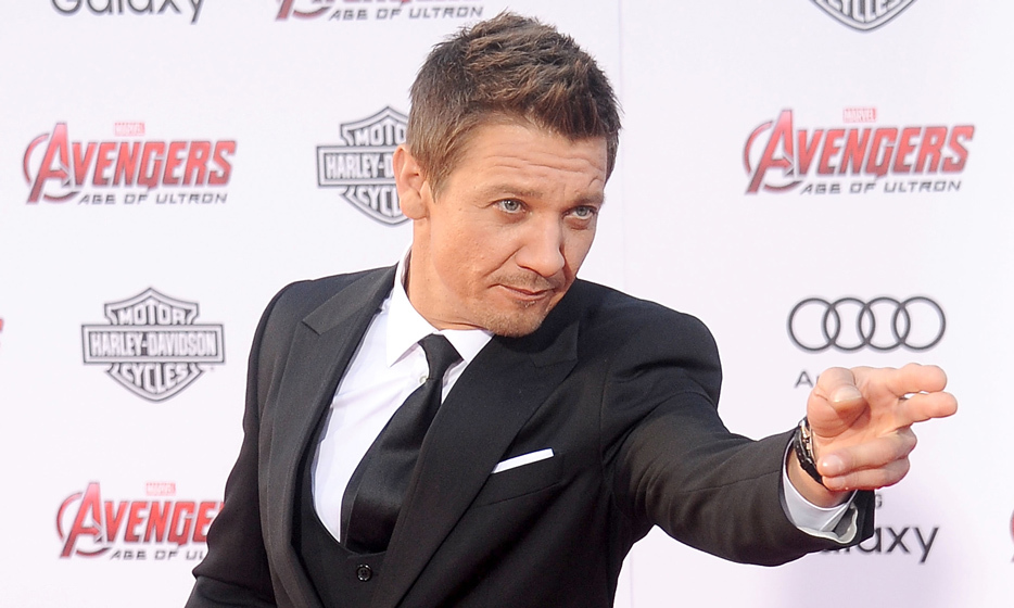 "Jeremy Renner on the development of his character Hawkeye: ""I speak in this movie, which is awesome! I got to dive into some really killer aspects of him. When I sat down with Joss and Kevin, back in the day, about why I liked and wanted to play Hawkeye, it was because I could never do what these [other] gentlemen do.""