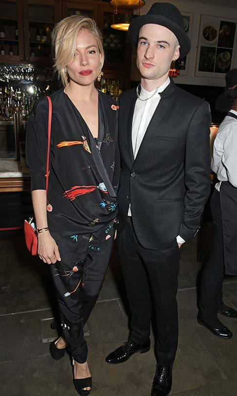 Sienna Miller and Tom Sturridge. 