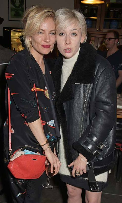 Sienna Miller and Polly Stenham 