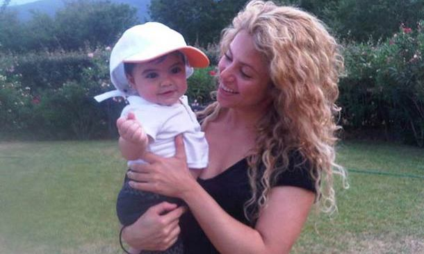 Shakira only had eyes for her baby son Milan while on holiday in the French countryside in August 2013.
