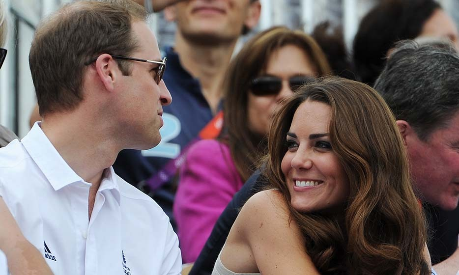 The pair were present at several events during the 2012 Olympic Games in London, where Kate stole loving glances at her new husband.