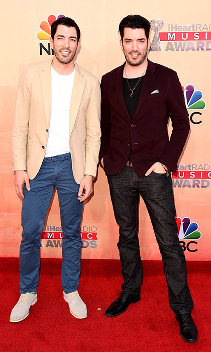 Drew Left And Jonathan Right Attend The Iheartmusic Awards In Los Angeles