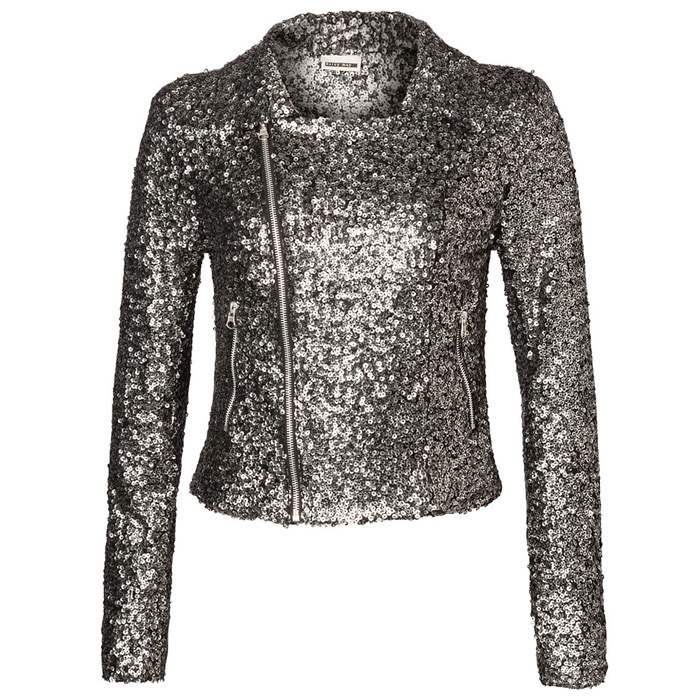 Hudson's Bay Company, Noisy May Cindy Sequin Jacket, $95.00, 