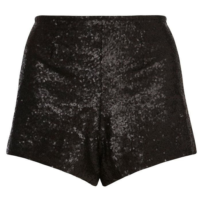 House of Fraser, Dorothy Perkins Sequin Shorts, 