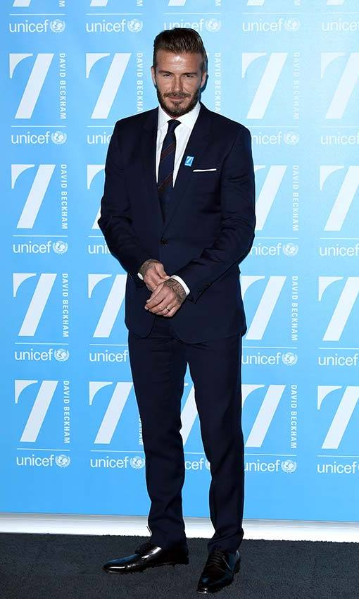 Celebrating 10 years as a UNICEF Goodwill Ambassador. Photo: © Getty Images