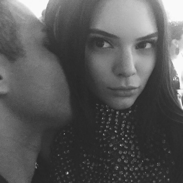 "Kendall Jenner: ""secrets? @olivier_rousteing""